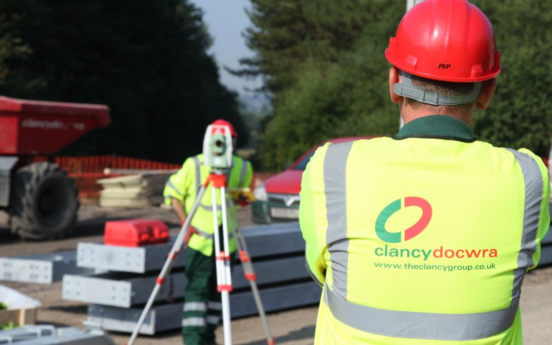 Leading from the front on safety - Clancy Docwra