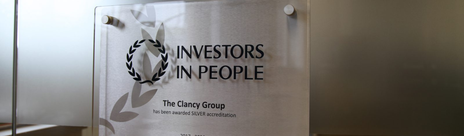 The Clancy Group Awarded Silver - Clancy Docwra