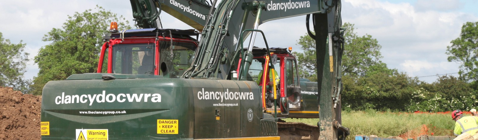 A67 Carlbury Main Diversion – replacement of 1km of 800mm diameter ductile iron (DI) pipes - Clancy Docwra
