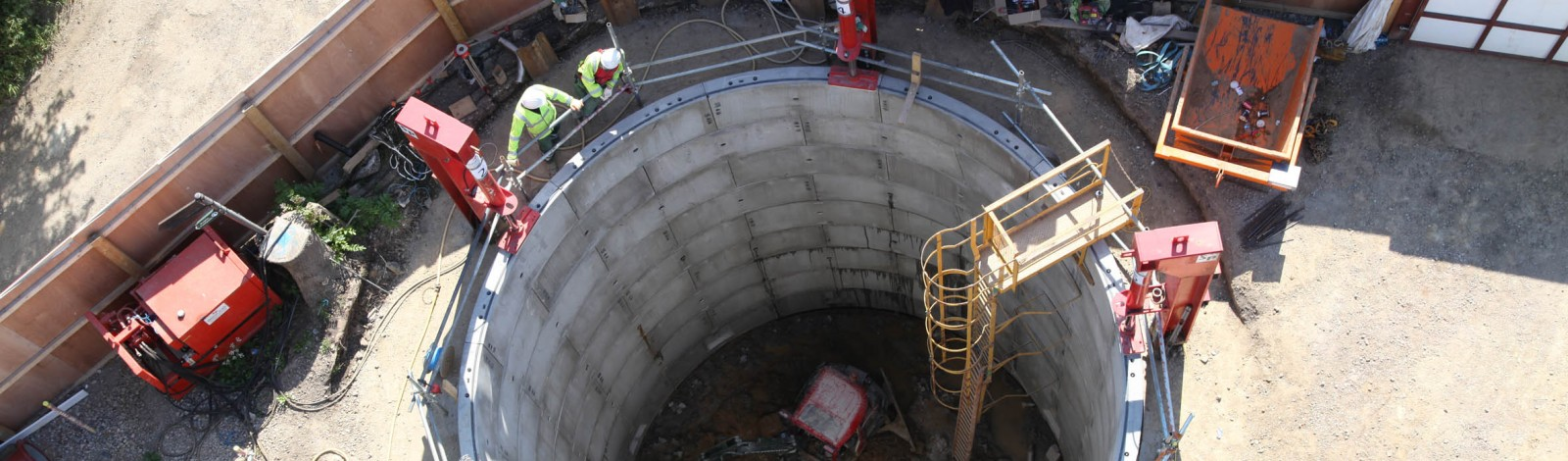 Harefield Road Flood Alleviation Project – underground offline storage of combined sewer flows - Clancy Docwra