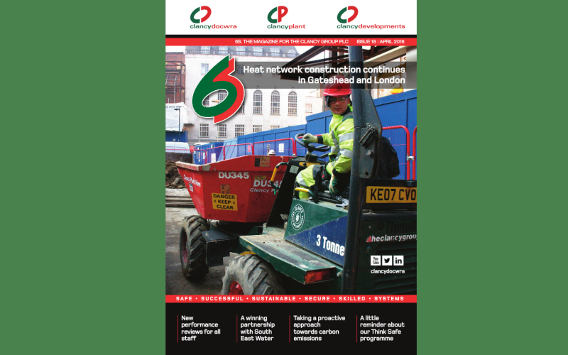 View our latest 6S Magazine - Clancy Docwra Group