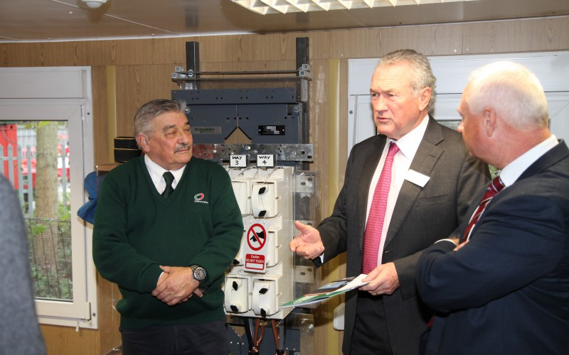Our training centre is a great opportunity for people to gain new skills that will be invaluable in todays energy sector - Clancy