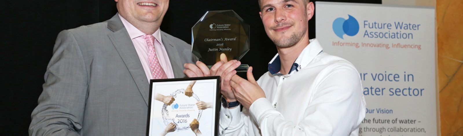 Double delight at the Future Water Association Awards - Clancy Docwra