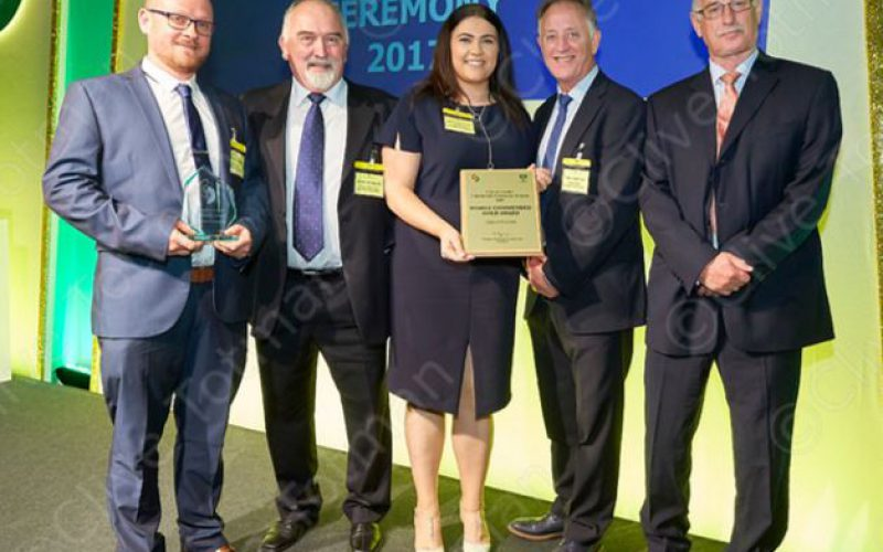 Clancy Docwra wins gold at Considerate Constructors Awards - Clancy Docwra