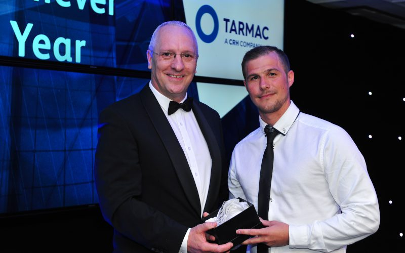 Justin Manley has won the Young Achiever of the Year at the Constructing Excellence – London & South East Awards - Clancy Docwra