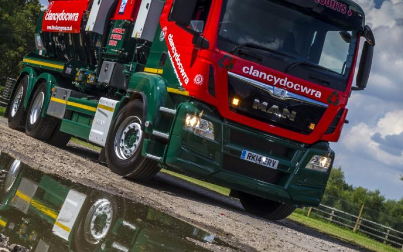 Gold Winners at Fleet Safety Awards 2018 - Clancy Docwra