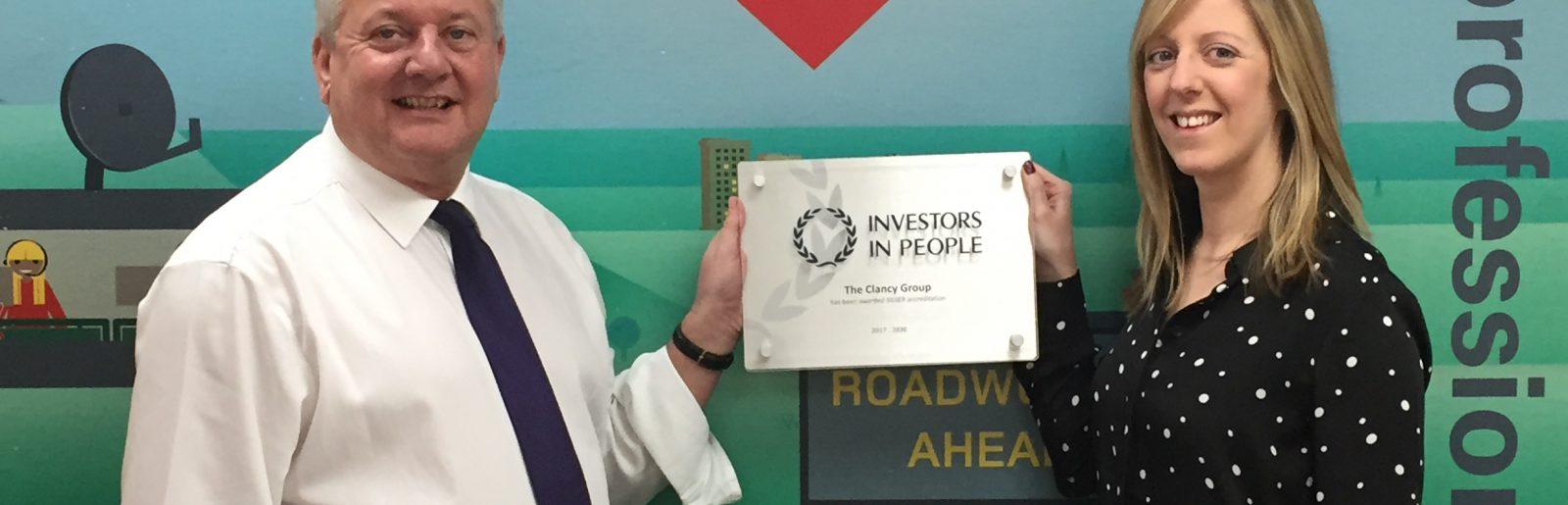 The Clancy Group awarded Silver in Investors In People - Clancy Docwra