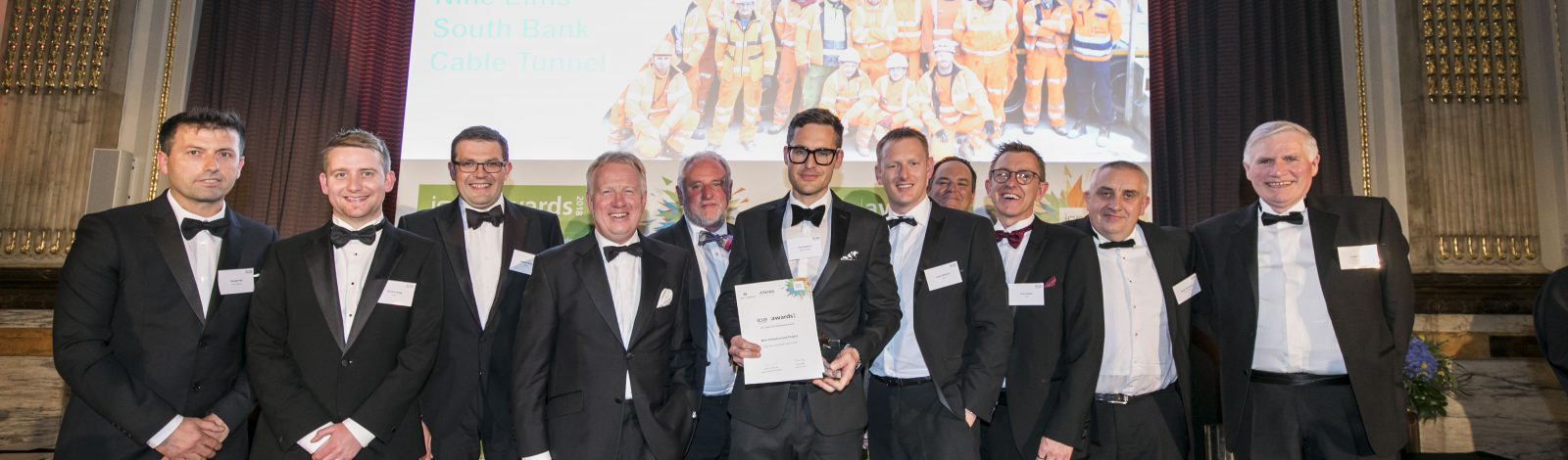 Nine Elms South Bank Cable Tunnel Wins Best Infrastructure Award 2018 - Clancy Docwra