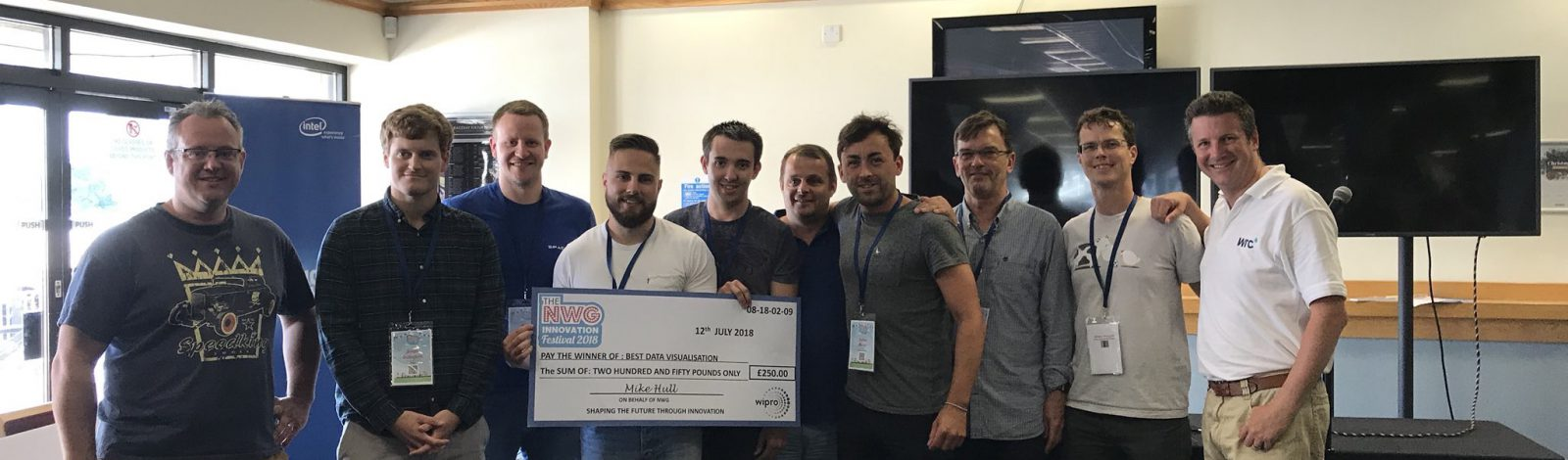 Clancy Docwra win Northumbrian Water Leakage Hackathon Award - Clancy Docwra