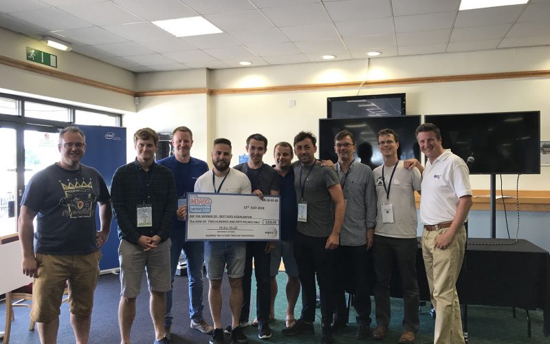 A win at the 2018 Hackathon  - Clancy Docwra