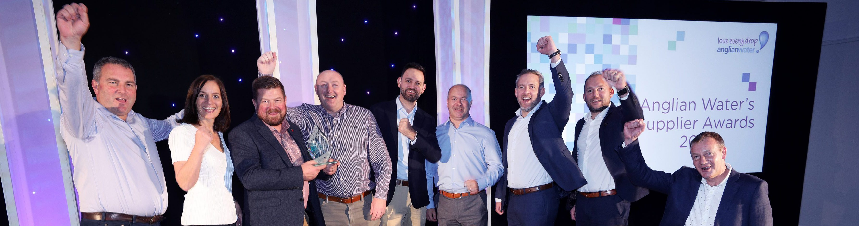 Anglian Water Supplier of the Year - Clancy Docwra