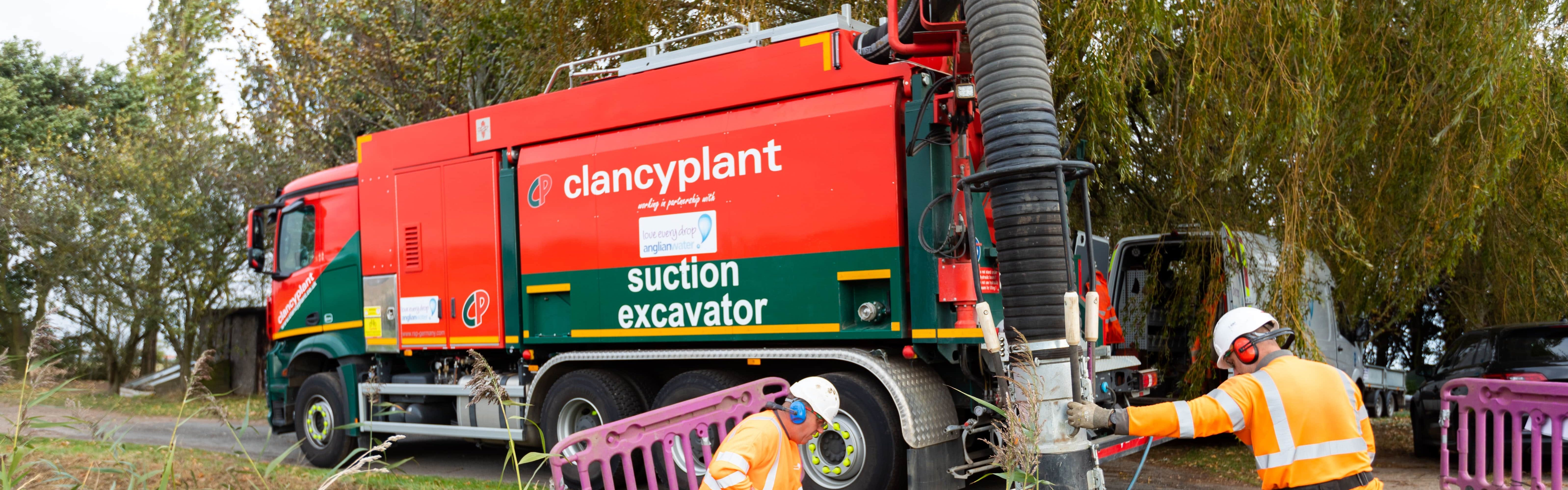 Suction Excavators - Clancy Docwra